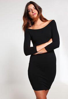 51f155e043 BALLET - Sukienka z dżerseju - black - Zalando.pl