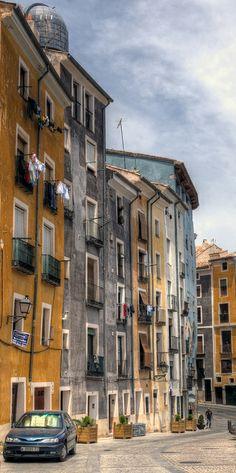old cuenca street   Cuenca, Spain ∞