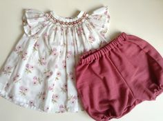 Smocked Pauline blouse by Citronille and Bloomers | Liberty Jangchup