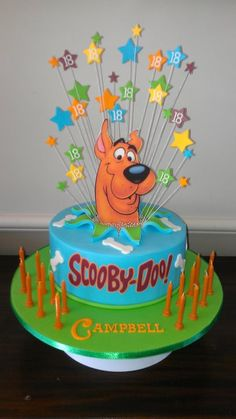 I Want This For My Th Birthday Scooby Doo Cake Just Cakes Character Cakes