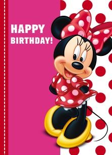 68 best happy birthday disney images in 2019 Happy Birthday Disney, Birthday Wishes For Kids, Happy Birthday Wishes Cards, Cute Happy Birthday, Birthday Pins, Happy Birthday Pictures, Birthday Messages, Mickey E Minie, Minnie Mouse