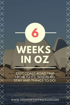 6 weeks travelling down the east coast of Australia in a camper van - here you'll find where to stay and things to do! #australia #travel