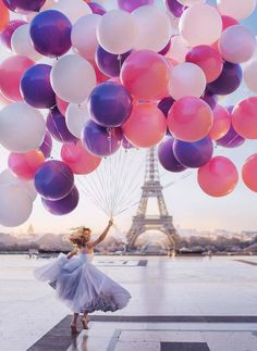 Paris in technicolor.