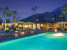 For $4,500 a night (two night stay minimum) you can now rent out this Donald Wexler-designed Dinah Shore Estate. 432...