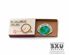 Anniversary Love Card Matchbox/ Gift box/ Message box/ by shop3xu