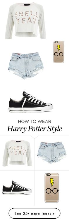 """Untitled #163"" by ilovefashionandfriends on Polyvore featuring MINKPINK, Casetify and Converse"