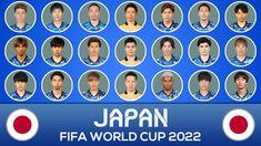 World Cup 2022, Fifa World Cup, Squad, Football, Japan, Youtube, Soccer, Futbol, American Football