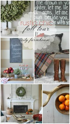 Rustic Fall Tour By City Farmhouse