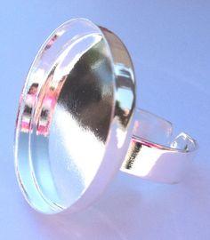 Ring met 1 inch setting (zelf sieraden maken) ringen -Koekiedoo