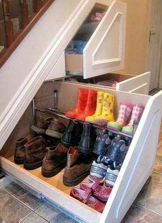 Stauraum für lästiges Schuhwerk