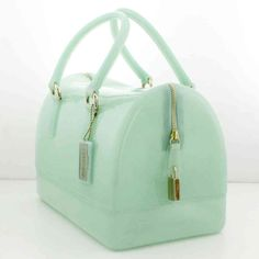 BORSA FURLA CANDY BAG BAULETTO ACQUA GELLATA - 759433 - Gheri Gherardi Showroom