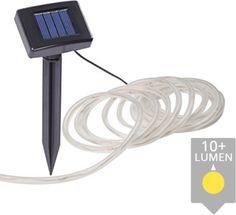 Solar LED lichtslang Rope ledstrip op zonne energie 5 meter