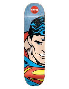 Almost x DC Comics Mullen Superhero Splitface Pro Deck - 8.125