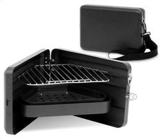 A wearable grill for on-the-go barbecuing   #TreatYoSelf   #ParksandRec