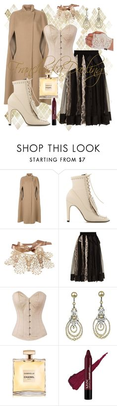 """""""Who Did That? 1-8-18"""" by francheskadarling ❤ liked on Polyvore featuring Agnona, Sergio Rossi, Amrita Singh, Simone Rocha and Louis Rousselet"""
