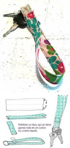 The best DIY projects & DIY ideas and tutorials: sewing, paper craft, DIY. DIY Gifts Ideas 2017 / 2018 Dragonne porte clefs www.fr -Read More - Sewing Hacks, Sewing Tutorials, Sewing Crafts, Sewing Projects, Sewing Patterns, Sewing Tips, Diy Projects, Diy Couture, Craft Ideas