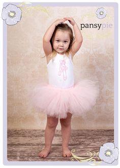 Baby Tutu Set Pale Pink Tutu Ballerina Outfit Baby Toddler 9 12 18 24 Months 2 Piece Set on Etsy, $33.50
