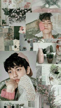 K Wallpaper, Tumblr Wallpaper, Cellphone Wallpaper, Lock Screen Wallpaper, Aesthetic Backgrounds, Aesthetic Wallpapers, Exo Youtube, Baekhyun Wallpaper, Exo Lockscreen