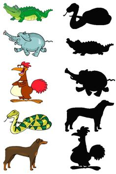 Crafts,Actvities and Worksheets for Preschool,Toddler and Kindergarten.Free printables and activity pages for free.Lots of worksheets and coloring pages. Educational Activities, Activities For Kids, Toddler Exercise, Number Worksheets Kindergarten, Matching Worksheets, Kids Zoo, Free To Use Images, Animal Projects, Creative Memories