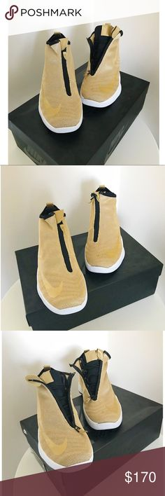 new concept 1e099 1f408 Nike Gold Metallic Zoom Kobe Icon JCRD New with original box  Zoom  Two way