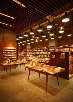 A nicely done bare concrete flooring @aksara bookstore