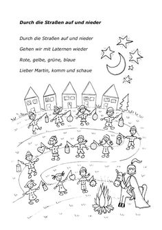Song for st Martin Kindergarten Portfolio, Kindergarten Art Projects, Kindergarten Activities, Hl Martin, Saint Martin, Ark Craft, Diy For Kids, Crafts For Kids, Coloring Pages For Grown Ups