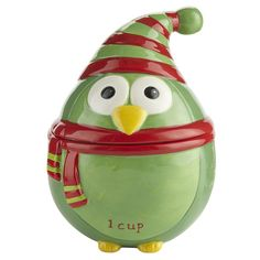 Pier 1 Holiday Owl Measuring Cups