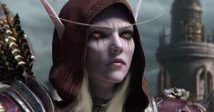 Battle for Azeroth ile World of Warcraft efsanesi köklerine geri dönüyor! World Of Warcraft Patch, World Of Warcraft Characters, Warcraft Art, Fantasy Characters, Paris Manga, Lady Sylvanas, Banshee Queen, Otaku, Japan Expo