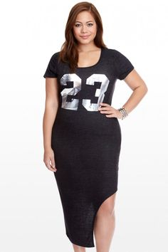 Plus Size Defense Midi Dress Trendy Plus Size Clothing, Plus Size Dresses, Plus Size Outfits, Plus Size Fashion, Dresses For Work, Athleisure Trend, Athleisure Fashion, Sexy Dresses, Fashion Dresses