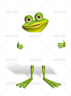 Frog and White Background by brux Frog and white background abstract illustration of the green frog with a smartphone JPEG 45405476, PNG 45405476 created in 3ds
