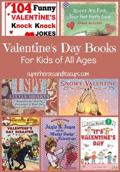 Valentines Day Books for Kids of All Ages - repinned by @PediaStaff – Please Visit  ht.ly/63sNt for all our pediatric therapy pins
