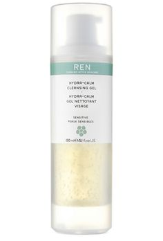 I genuinely look forward to washing my face every morning (and night!) with REN's Hydra-Calm Cleansing Gel. One pump is enough to take an entire day's worth of makeup and grime off without stripping my skin of moisture. The texture is silky and the smell, divine. Bottom line: it cleanses my crazy reactive skin without any irritation.