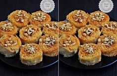Muhallebili Milföy Tatlısı - See Tutorial and Ideas Cannoli, Mocha, Deserts, Muffin, Sweets, Breakfast, Recipes, Food, Turkish Dessert