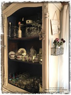 PfUeTzEnHuEpFeR`s Welt #pfuetzenhuepfer #shabbychic #vintage #paint #diy #upcycling #homesweethome #dekor #interior #home
