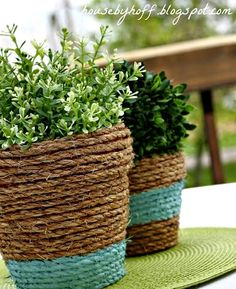 Awesome Porch & Garden Planters with a Coastal and Nautical Theme - Completely Coastal
