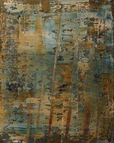 Koen Lybaert - abstract N° 816 - oil on canvas [100 x 80 x 4] / 2014