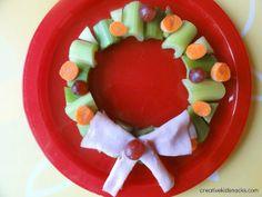 Creative kid snacks: healthy christmas snacks for the kids vakantie snacks, Holiday Snacks, Christmas Snacks, Holiday Recipes, Kids Christmas, Beach Christmas, Christmas Recipes, Christmas Crafts, Healthy School Snacks, Healthy Snacks For Kids