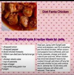 Slimming world diet fanta chicken