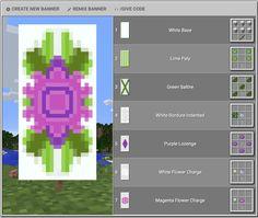 Minecraft Banner Patterns, Cool Minecraft Banners, Minecraft Shops, Minecraft Plans, Minecraft Decorations, Amazing Minecraft, Minecraft Tutorial, Minecraft Blueprints, Minecraft Crafts