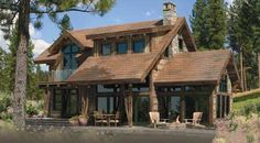 PrecisionCraft Log & Timber Homes: The Clearwater