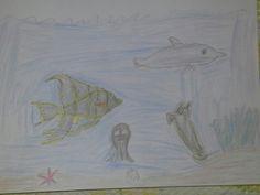 Kala uivat järven pohjassa ulkomailla
