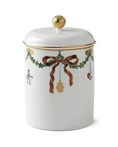 """Features: -Star Fluted Christmas collection. Holiday Theme: -Yes. Holiday: -Christmas. Material: -China. Color: -White. Dimensions: Overall Height - Top to Bottom: -6.69"""". Overall Width - Side"""