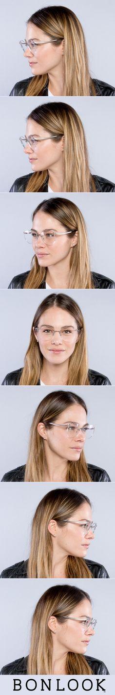 Women's Eyeglasses - Anna in Steel | BonLook