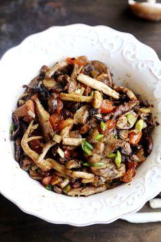 Slow Baked Garlic Sesame Mushroom Blend - Vegan