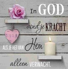 In God vind je kracht