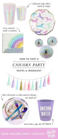 Shop for pretty party supplies!