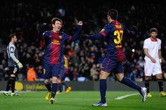 Lionel Messi & Cristian Tello