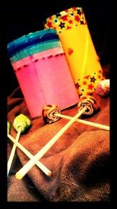 Colorful Mallets and Drums From Household Materials