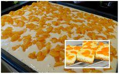 Tvarohové bleskurychlé nebe s mandarinkami: Famózně chutný a šťavnatý dezert připravený za 13 minut - kdo ochutná, chce recept - Plastic Cutting Board, Cookies, Food, Basket, Crack Crackers, Eten, Cookie Recipes, Meals, Biscotti