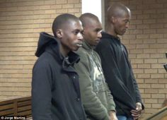 Two young black males gagged a crying old white boy and afterwards drowned him in a bath filled with boiling water. The accused yesterday admitted guilt to the murder with smiles as they ap… Crime In South Africa, News South Africa, White Lives Matter, Couple Shots, Young Black, Political Views, White Boys, Big Men, 12 Year Old